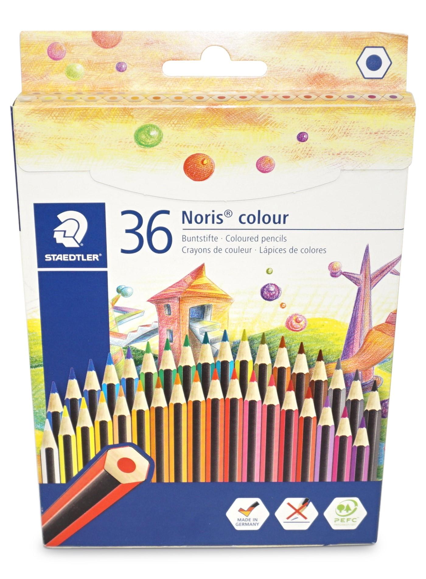 Staedtler Wopex Noris colour Buntstifte, 36er Pack