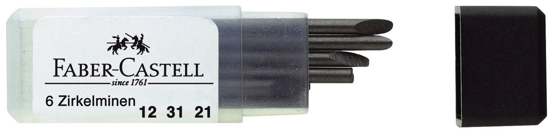 Faber-Castell  Zirkelminen, 6 Stück