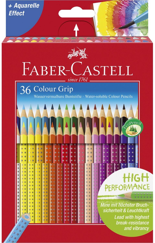 Faber-Castell Colour Grip Buntstifte, 36er Pack