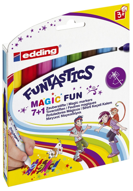 edding Funtastics Zauberstifte, 7+1 Etui