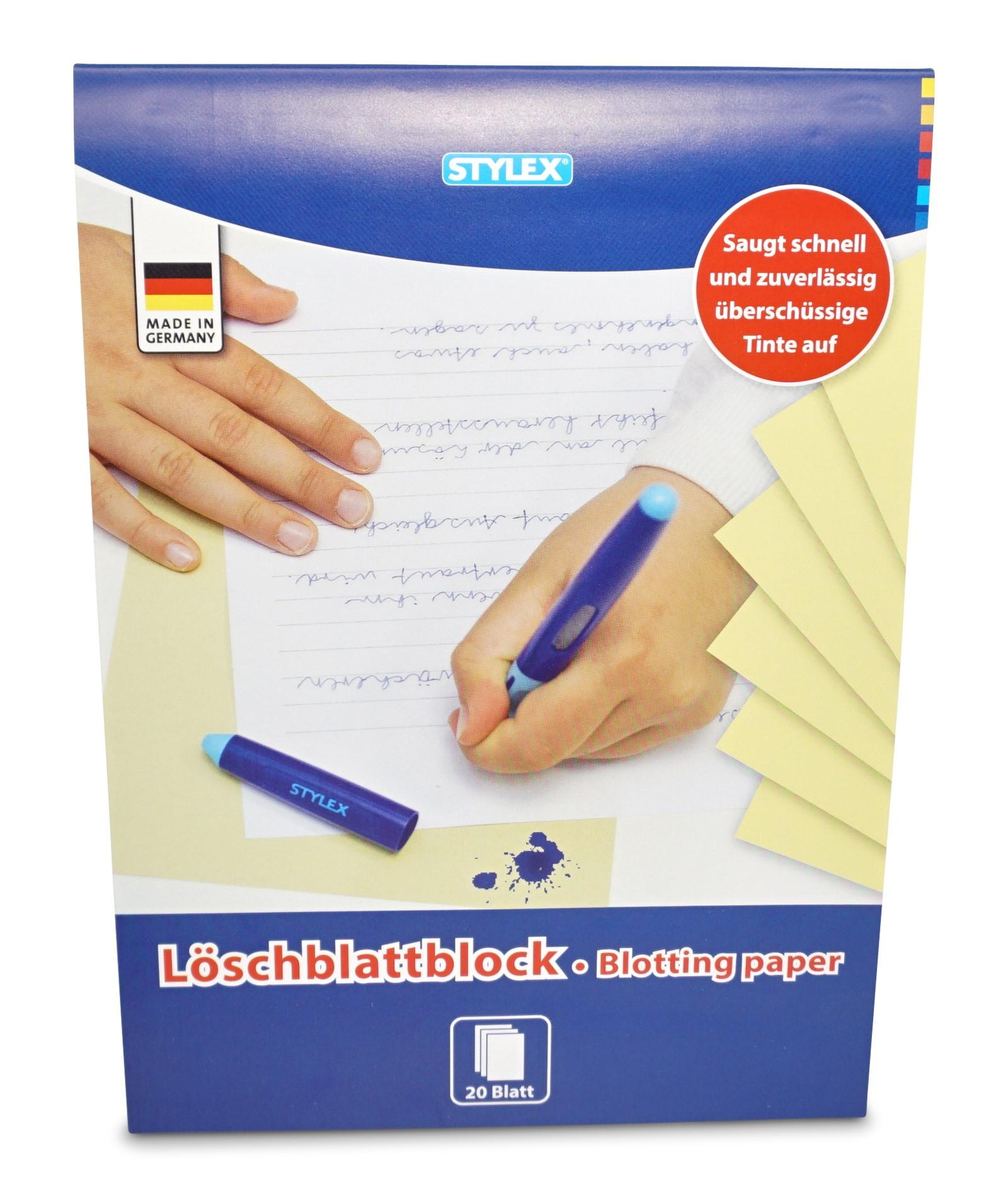 Stylex  Löschblatt, 20 Blatt, A4