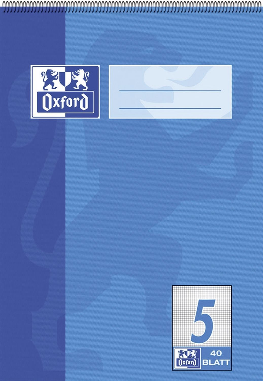 Oxford  Matheblock, 2.-4. Klasse, Kopfspirale