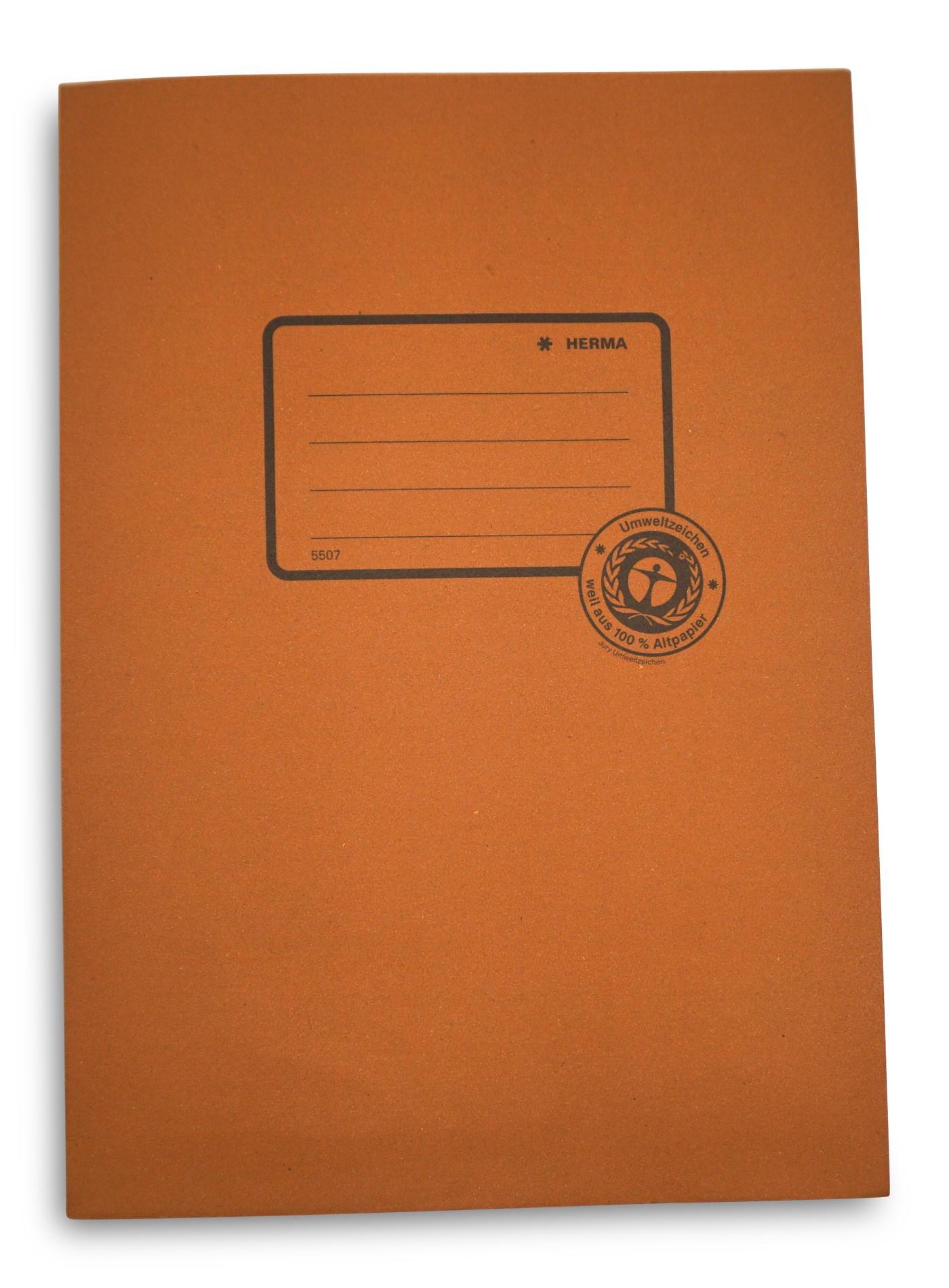 Herma  Heftumschlag aus Recyclingpapier