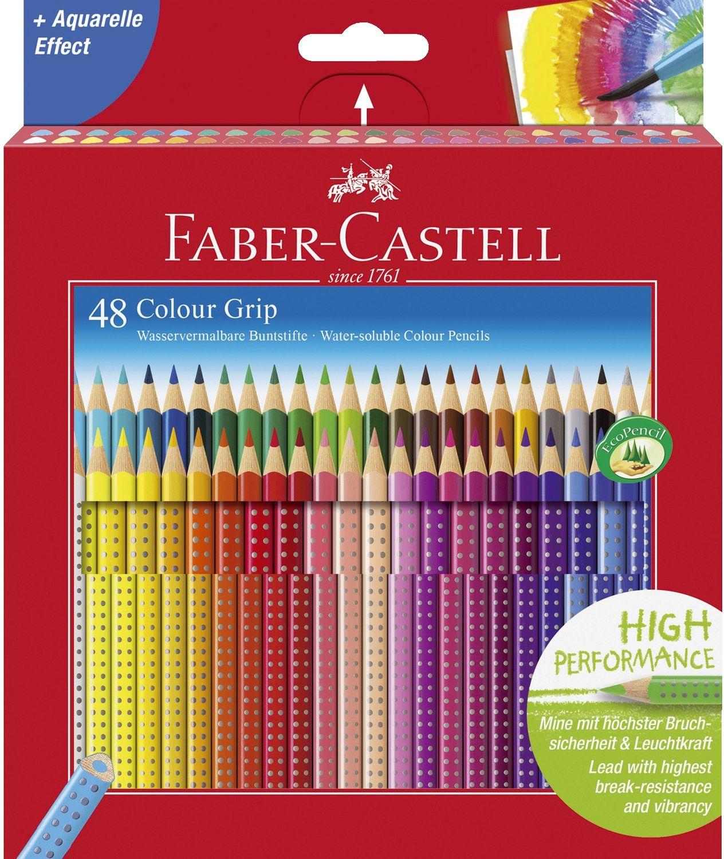 Faber-Castell Colour Grip Buntstifte, 48er Pack