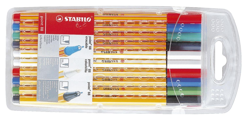 Stabilo point 88 colorkilla erasable Fineliner