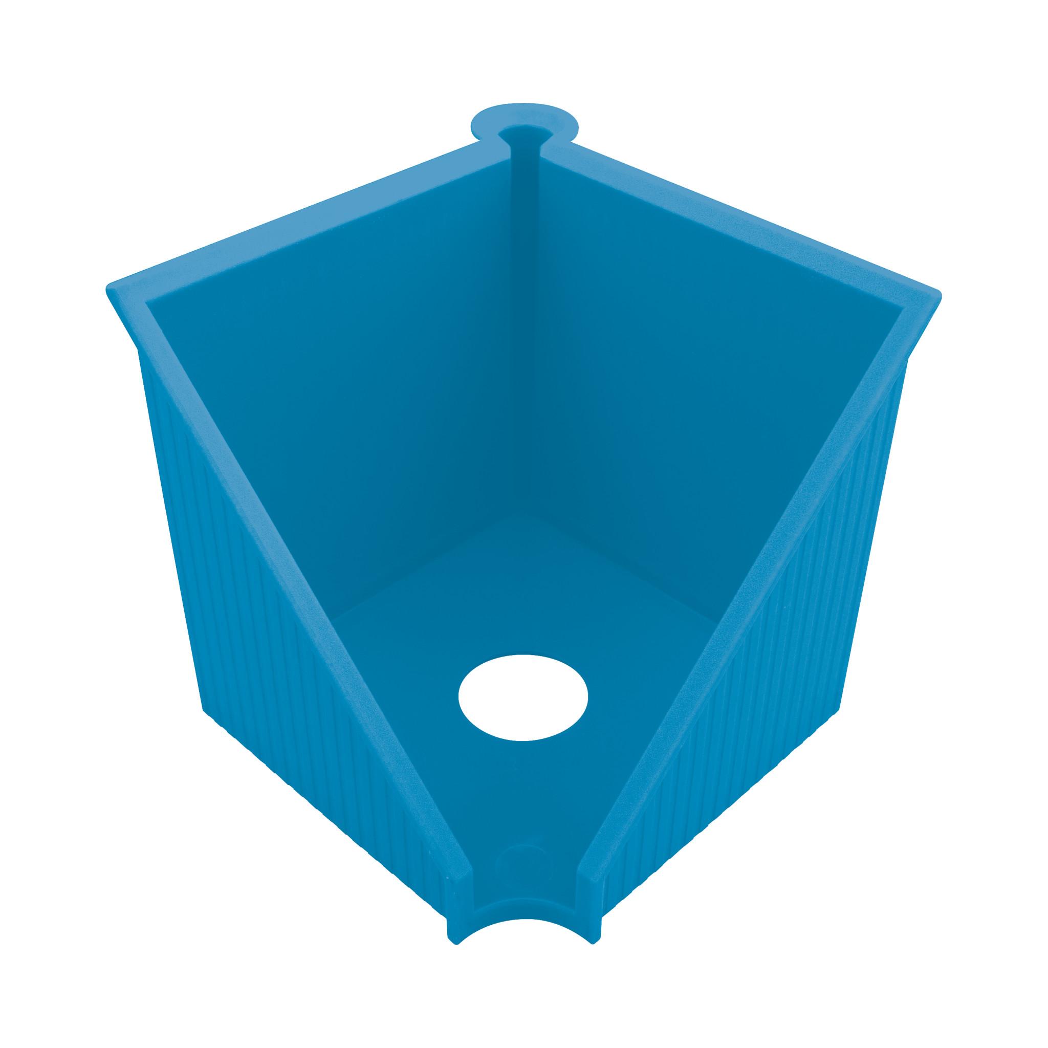 Herlitz Zettelkasten GREENline intensiv blau