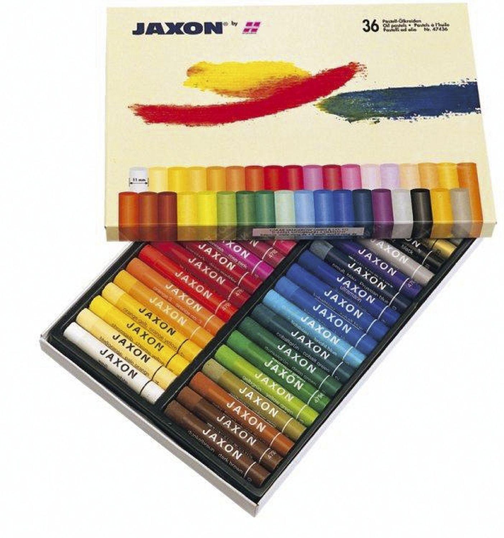 Jaxon  Ölpastellkreide, 36 Farben