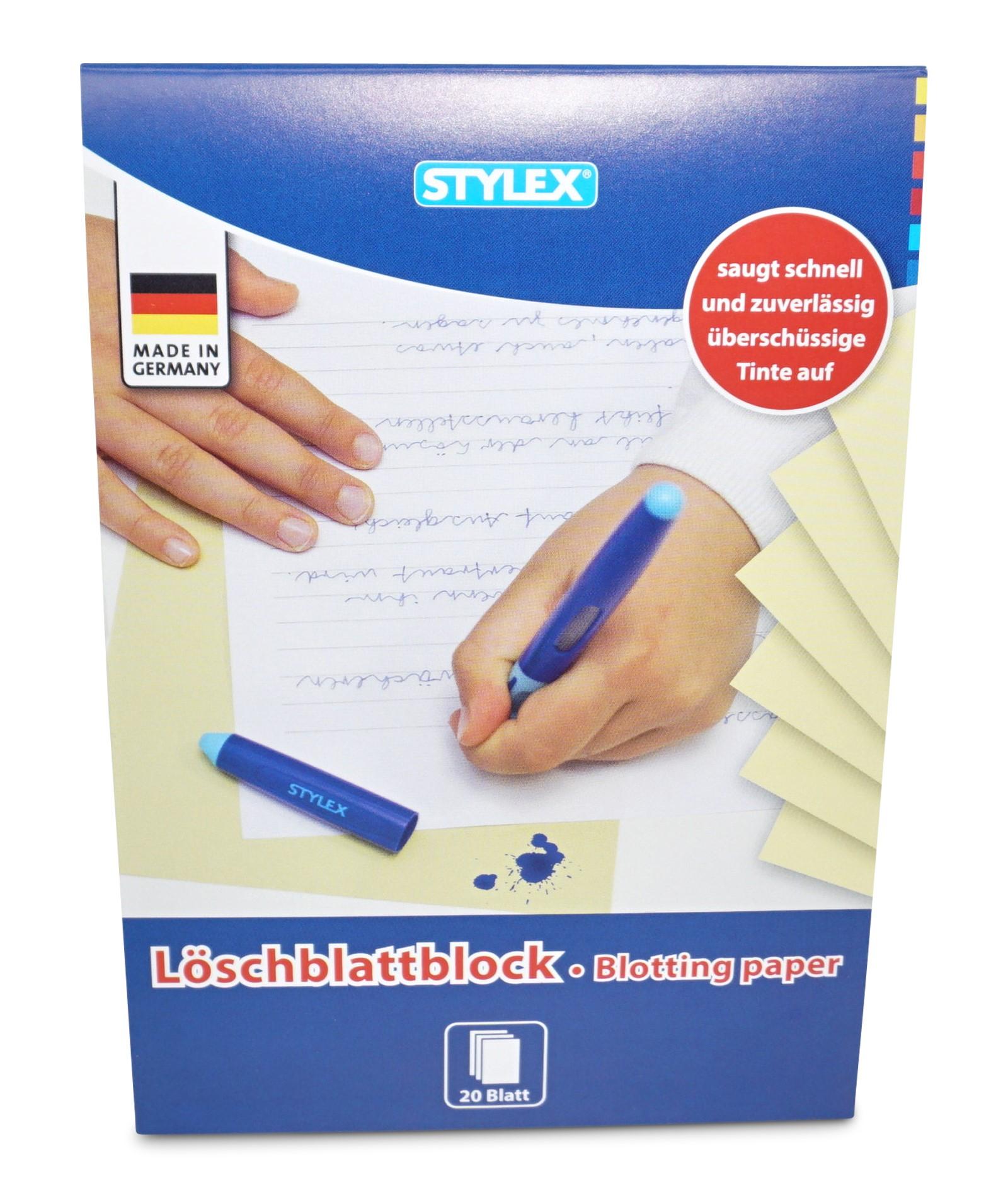 Stylex  Löschblatt, 20 Blatt, A5