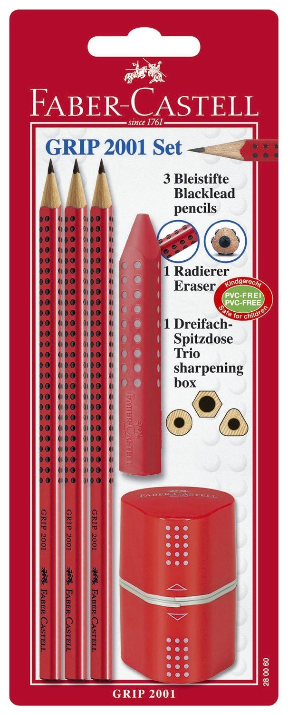 Faber-Castell Grip 2001 Bleistiftset