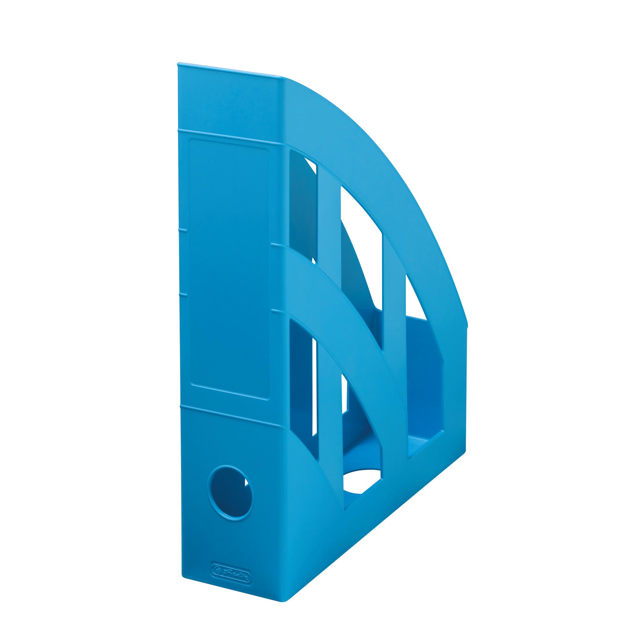 Herlitz Stehsammler A4-C4 classic recycling intensiv blau