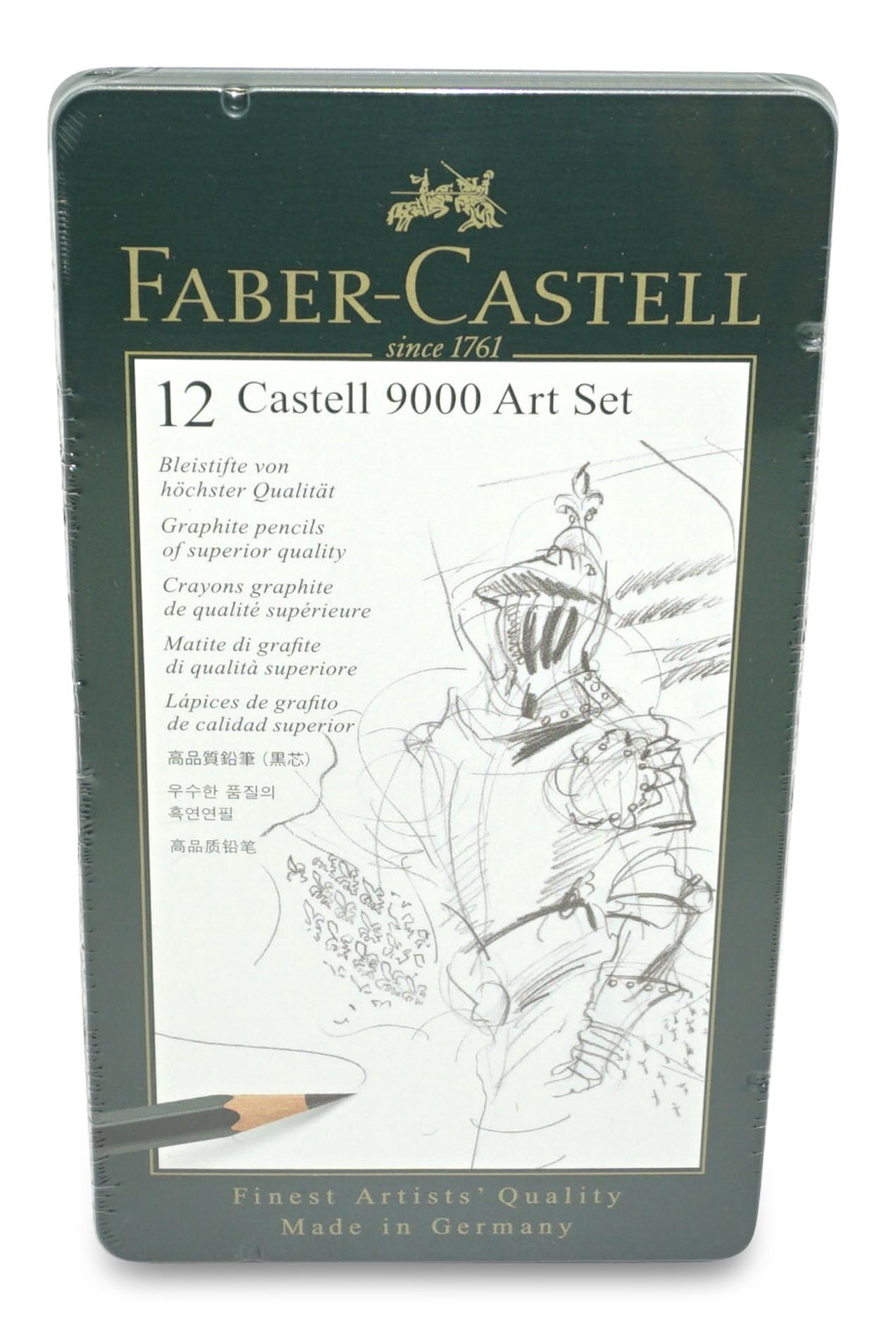 Faber-Castell  Bleistift-Set Art, 8B bis 2H