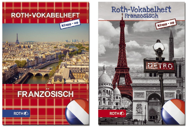 Roth Klapp-up Vokabelheft Französisch