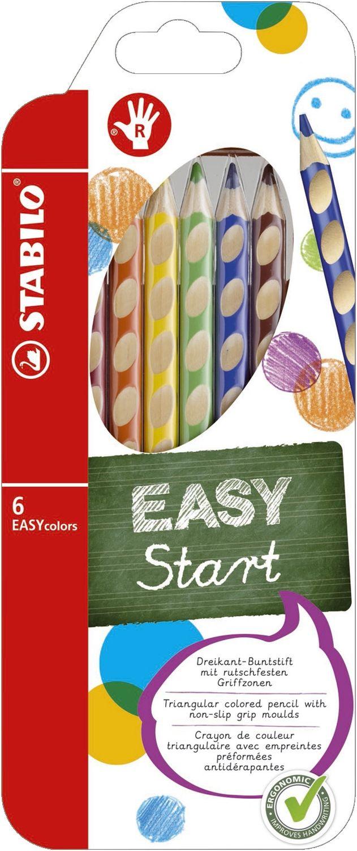 Stabilo EASYcolors Buntstifte, 6er Pack