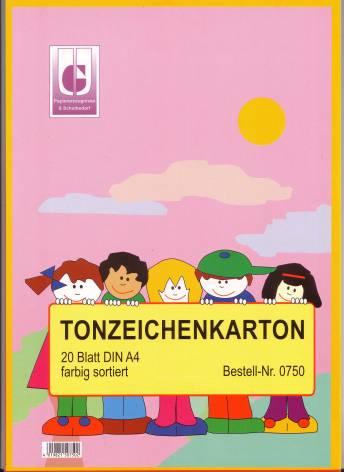Uhlig  Tonzeichenkarton, 20 Blatt
