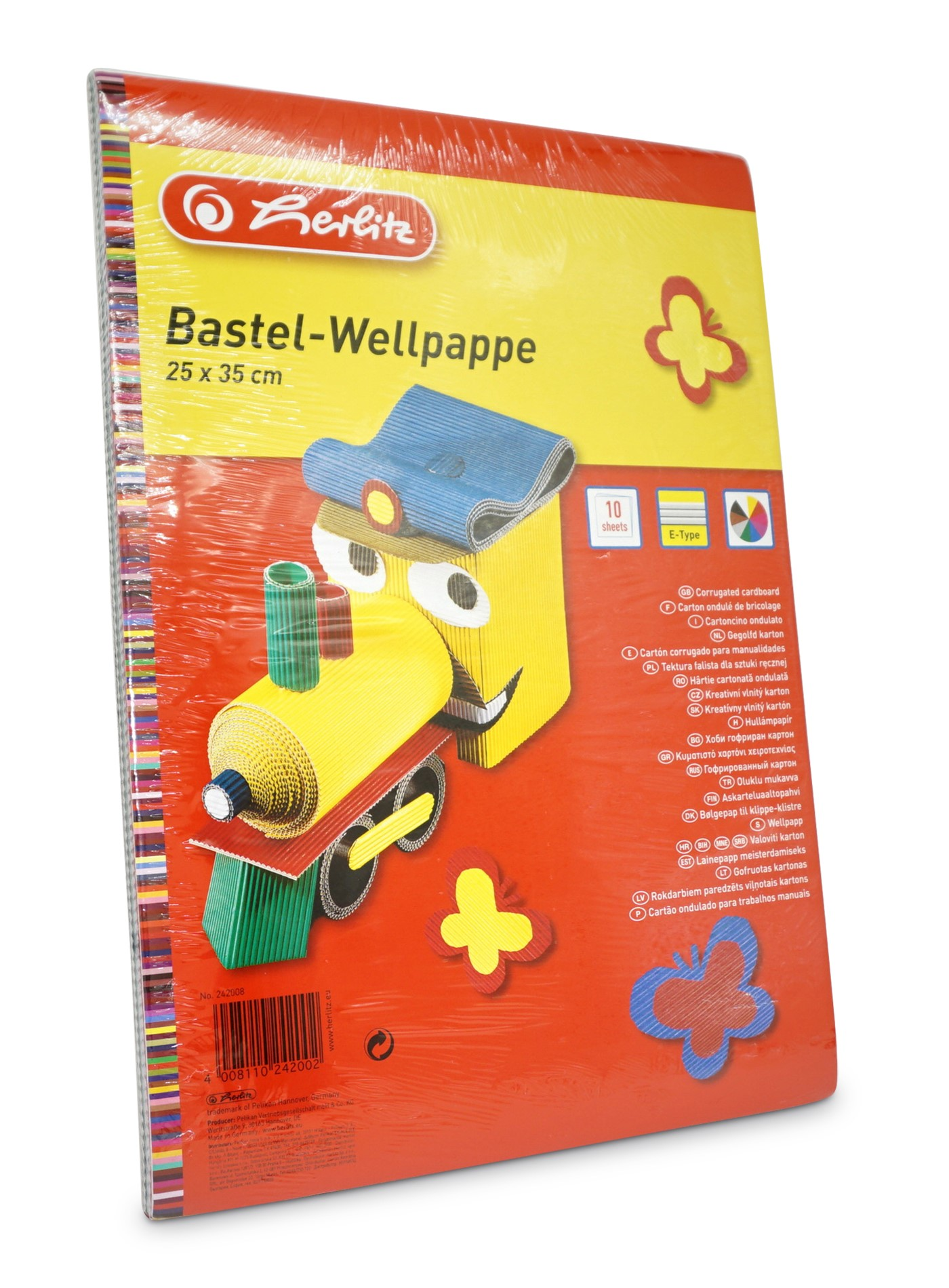 Herlitz  Bastel-Wellpappe