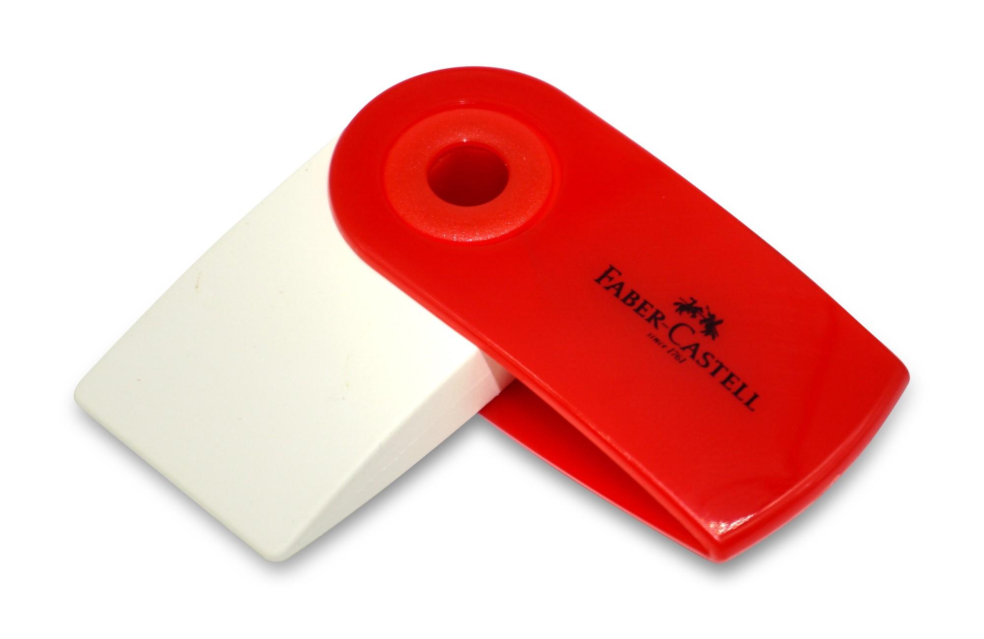 Faber-Castell Mini Sleeve Radierer
