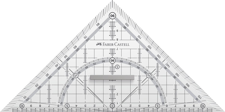 Faber-Castell Grip Geometriedreieck, groß