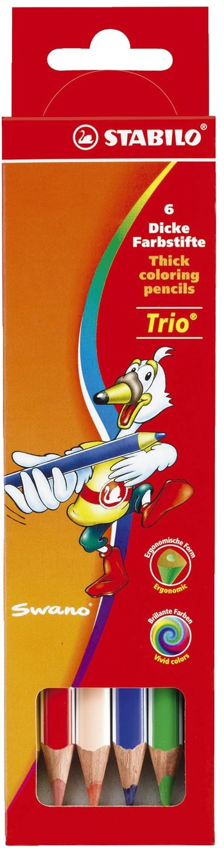 Stabilo Trio 6 dicke Buntstifte, dreikant