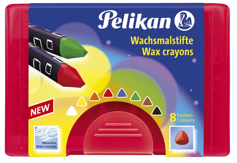 Pelikan  Wachsmaler dreieckig, wasserfest