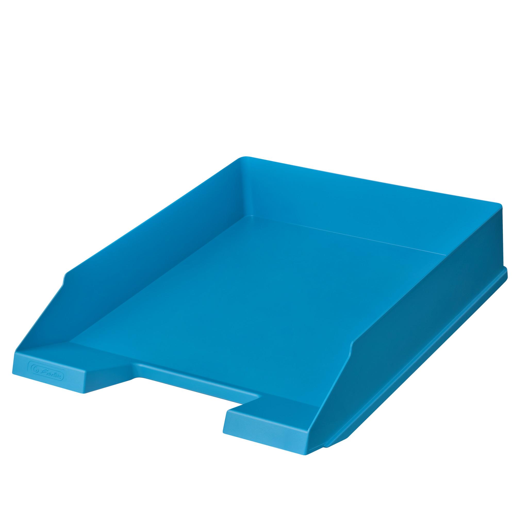 Herlitz Ablagekorb A4-C4 classic recycling intensiv blau