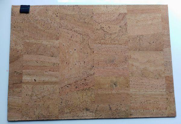 Korkgut Schreibtischunterlage aus Kork, 30 x 42 cm