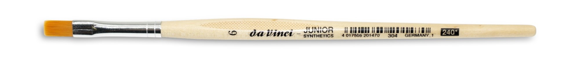 da Vinci Junior Synthetics Flachpinsel