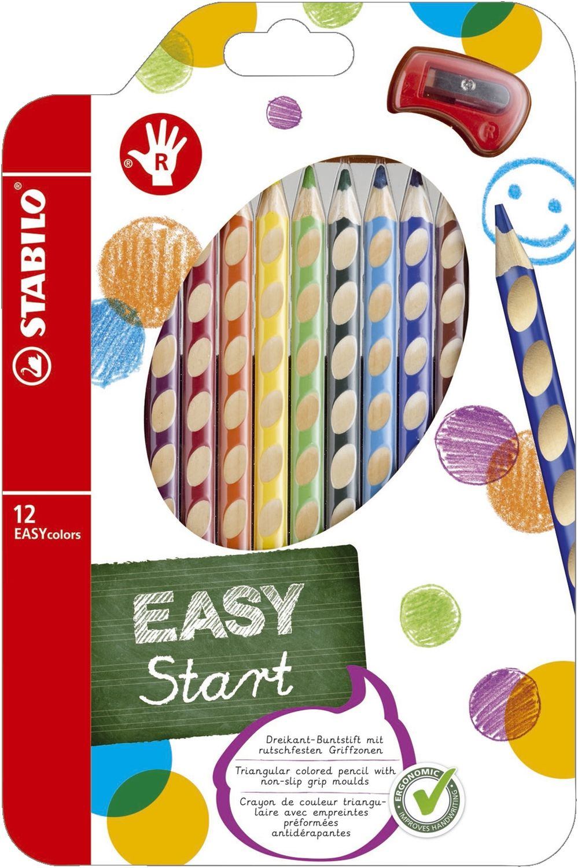 Stabilo EASYcolors Buntstifte, 12er Pack