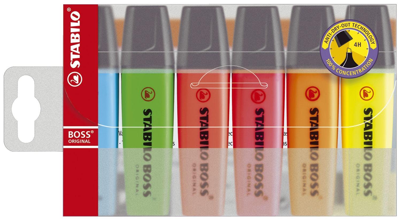 Stabilo BOSS Original Textmarker, 6er Box