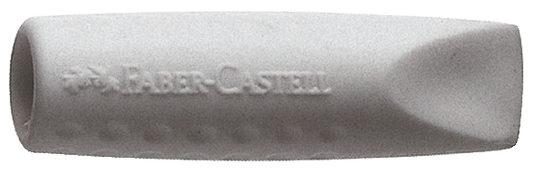 Faber-Castell GRIP ERASER CAP Radiergummi, Doppelpack
