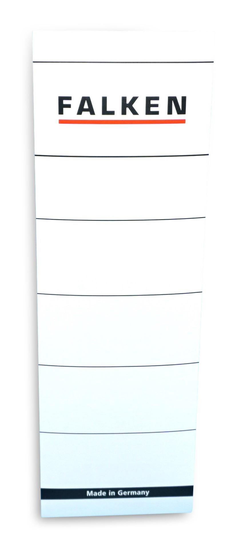 Falken  Ordnerrücken breit, selbstklebend, 10 Stück