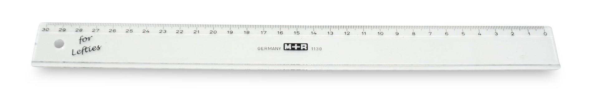 Möbius & Ruppert  Lineal für Linkshänder