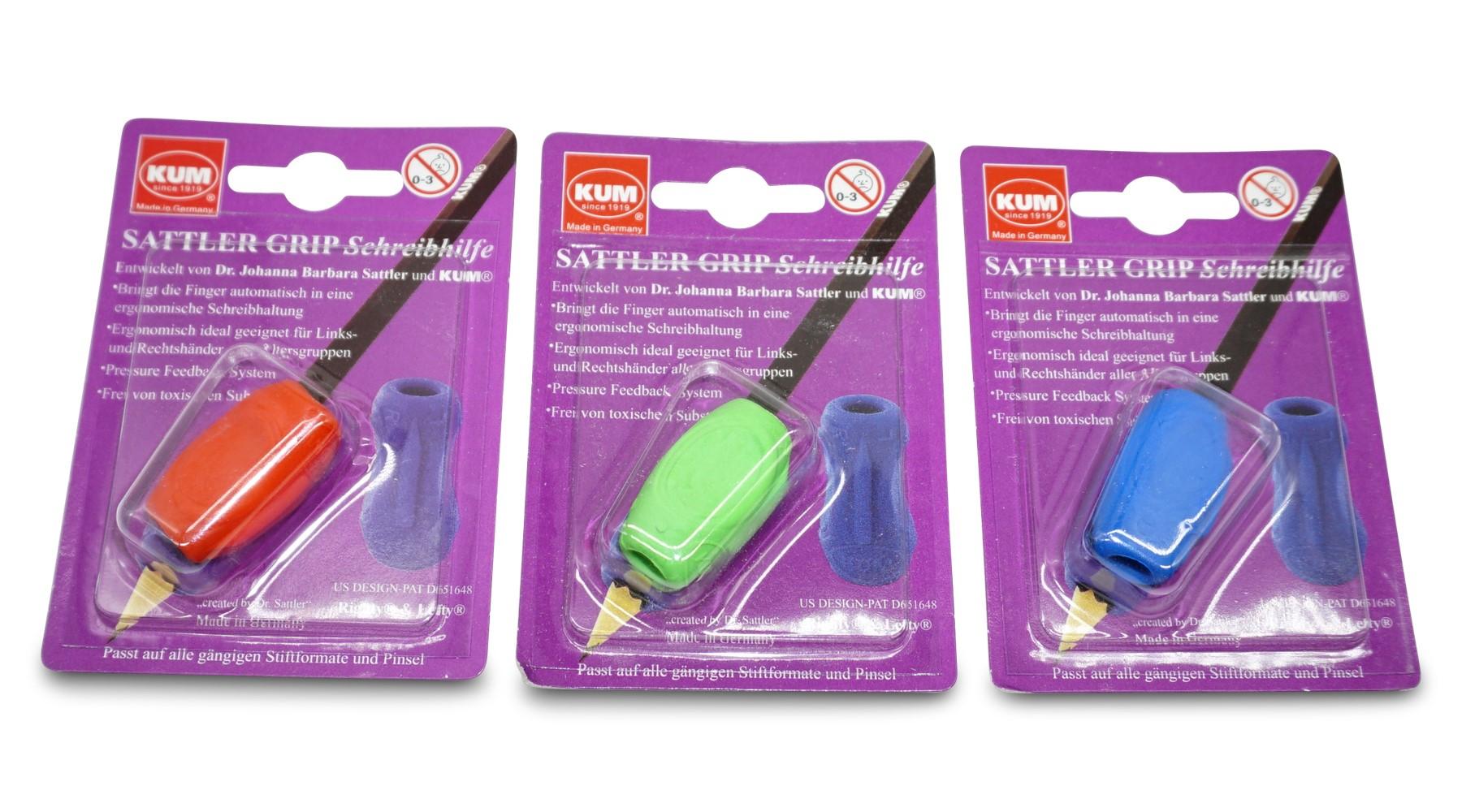 KUM Sattler Grip Schreibhilfe für Rechts- und Linkshänder