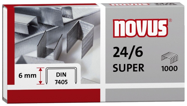 Novus  Heftklammern, 1000 Stück
