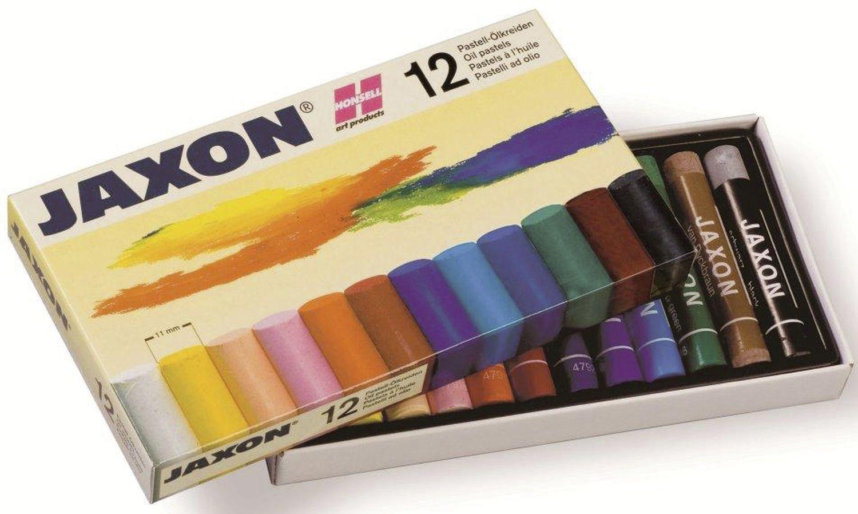 Jaxon  Ölpastellkreide, 12 Farben