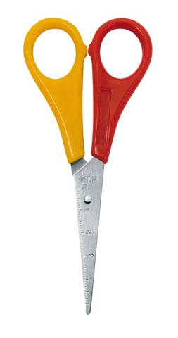 Wedo  Kinderschere für Linkshänder, spitze Spitze