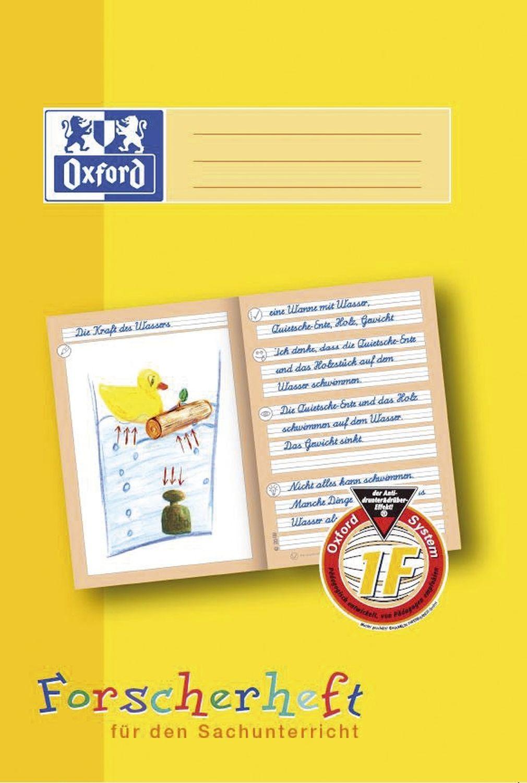 Oxford  Forscherheft 1F für 1. Klasse Grundschule