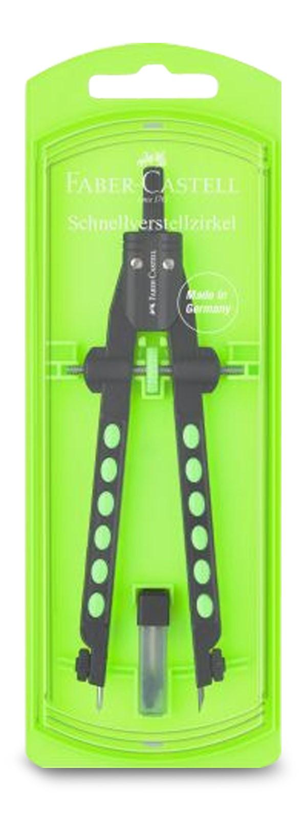 Faber-Castell Factory Neon Schnellverstellzirkel
