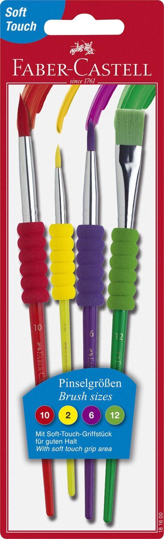 Faber-Castell  Buntes Pinsel-Set mit Griffstück