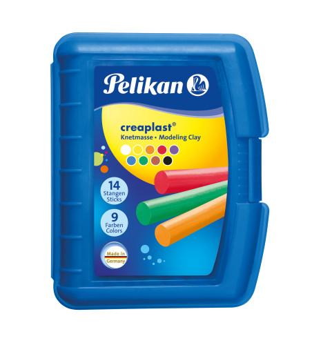 Pelikan Kinderknete Creaplast® 9 Farben im blauen Etui